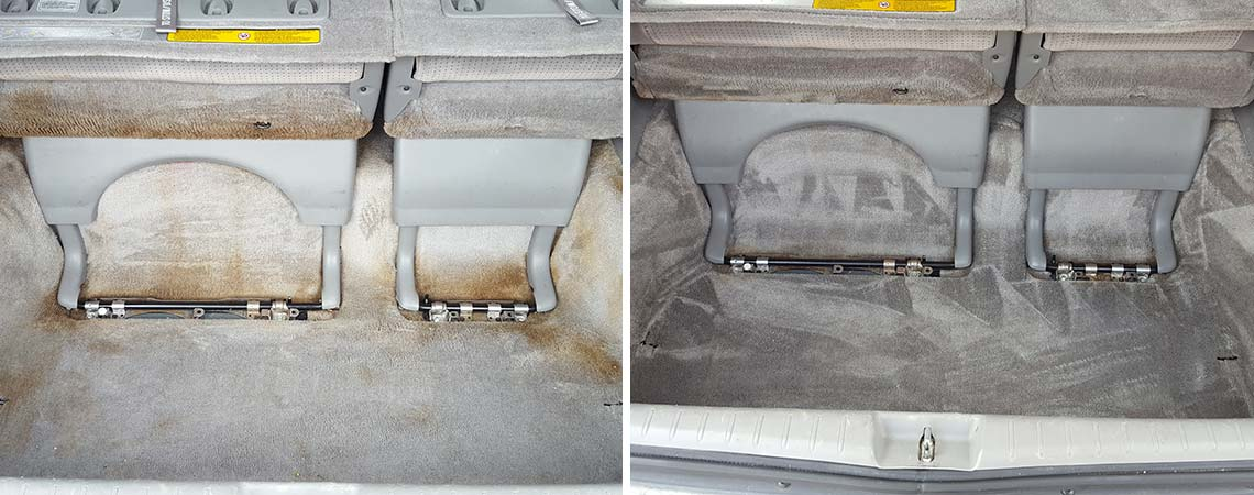 Auto Upholstery - Before & After